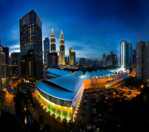 Kuala Lumpur Convention Centre - Night View